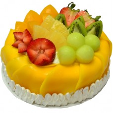 Fresh Mango Cream Cake